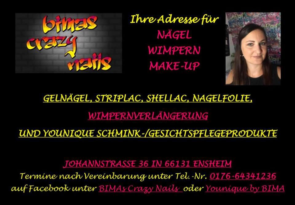 Handel und Gewerbe Ensheim - Bimas Crazy Nails