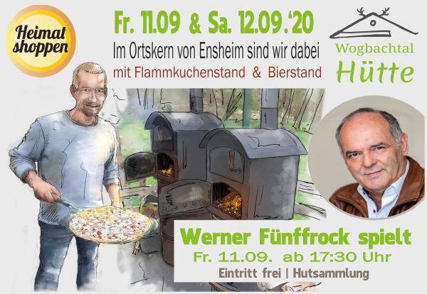 Wogbachtalhütte - Heimat Shoppen 2020 in Ensheim